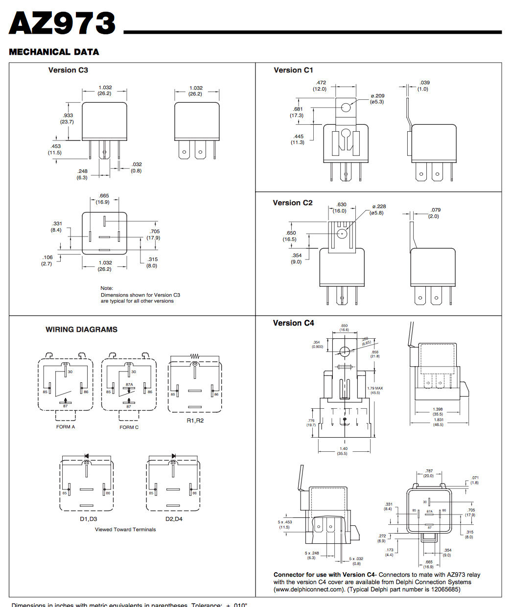 Outboard Motor Relays Wiring Diagram For Boat Trim Solenoids Of Free Shipping Zettler Power Relay Mercury Force 1046x1240