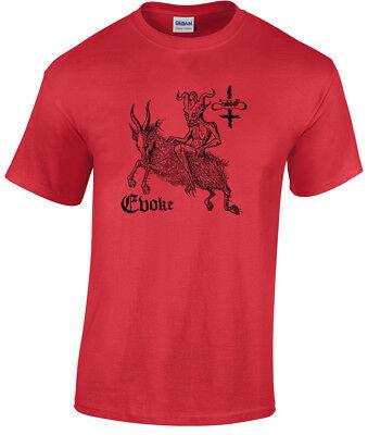 Sabbat Evoke T Shirt Black Thrash Destroyer 666 Midnight Dishammer Aura Noir