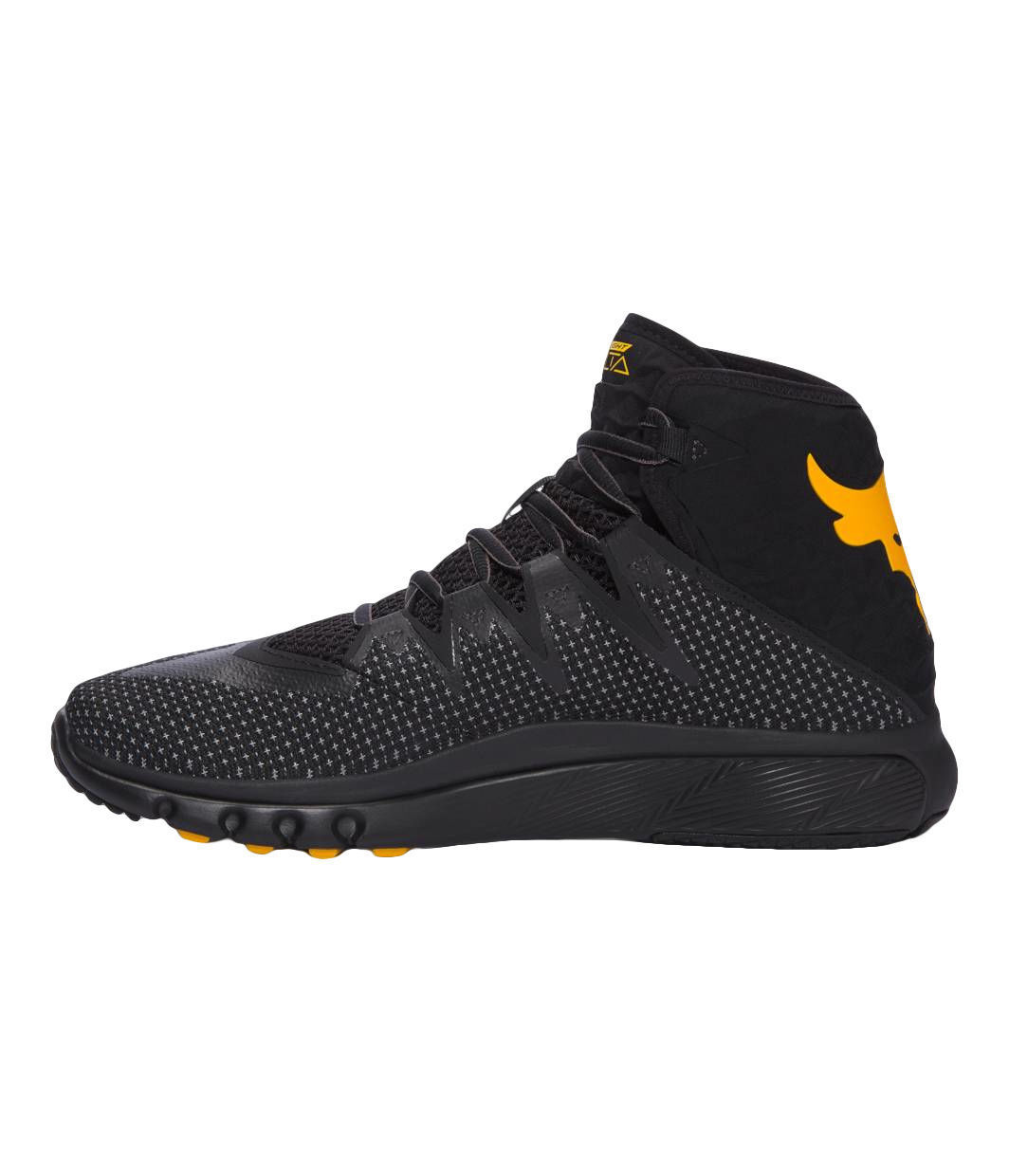 c8ed835f3 Under Armour Project Rock Delta Charcoal Black Men s Training Shoes ...