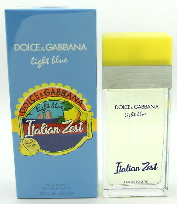 Dolce & Gabbana Light Blue Italian Zest for Women EDT Spray 3.3 oz New In Box - Woman In Light