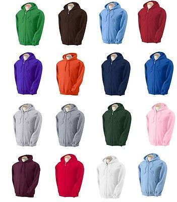 PEACHES PICK Mens BIG & TALL Full Zip Hooded Sweatshirt Hood