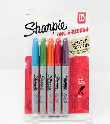Limited Edition 2013 One Direction 1d Favorite Colors Sharpie Markers Sealed