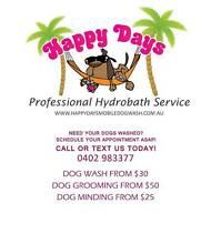 DOG WASH Happy Days Mobile Dog Wash Hydrobath Bracken Ridge Brisbane North East Preview