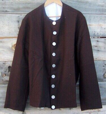 Revolutionary War Civilian Militia Wool Frock Coat 50
