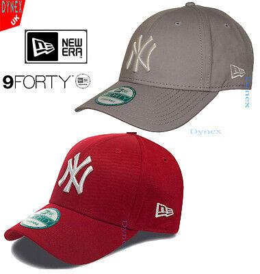 New Era 9Forty MLB Basic NY New York Yankees Adjustable Baseball Cap FREE P&P