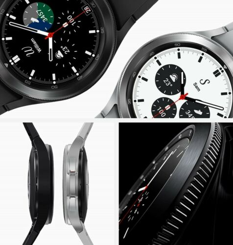 Samsung Galaxy Watch4 Classic 46MM SM-R890 Bluetooth Version S-Steel  NEW SEALED