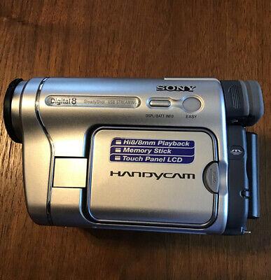 Sony DCR-TRV460 Digital 8 HI8 8mm Camcorder Video Camera Good Shape Bundle