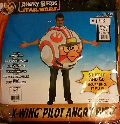 Angry Birds Star Wars Luke Fighter - Starfighter Pilot Kostüm