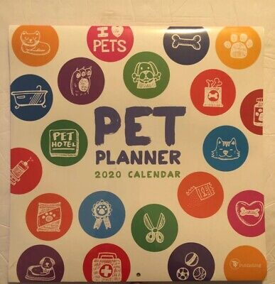 "TF Publishing, 2020 Pet Planner Wall Organizer - 24""h x 12""w"
