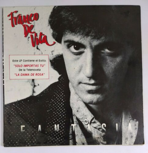 Franco De Vita Fantasia SONO TONE SO-1405 LP VG A388 - $24.99