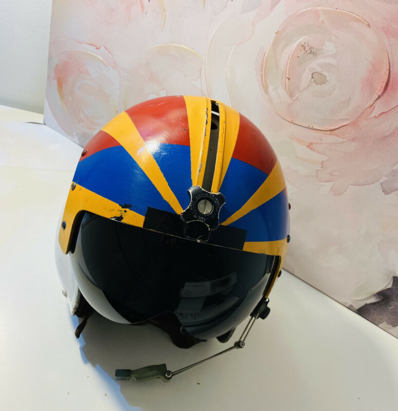 Vintage Gentex Fighter Pilot Helmet US Navy