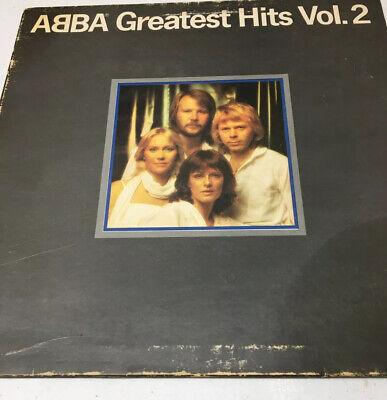 Abba Greatest Hits Volume 2 Vinyl Lp
