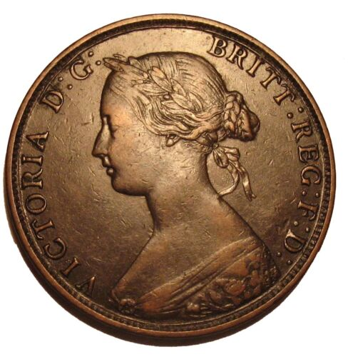 1864 NEW BRUNSWICK ONE CENT COIN TOKEN  Highgrade Canada Provincial