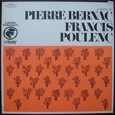 """2er-Box Pierre BERNAC - Francis POULENC """"Liederrezital"""" - NM-"""