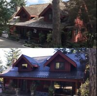METAL ROOFING & SIDING SERVICES  -  CALL 844-2METAL4