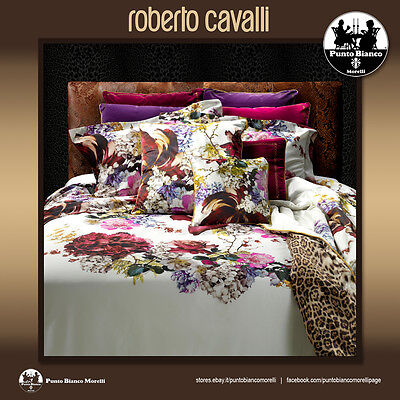 ROBERTO CAVALLI HOME   FLORIS Completo copripiumino - Full duvet cover