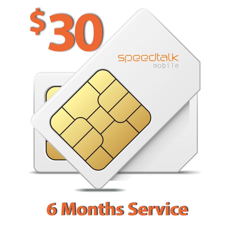 $30 Prepaid SIM Card for GSM GPS Tracker Pet Senior Kid Chil
