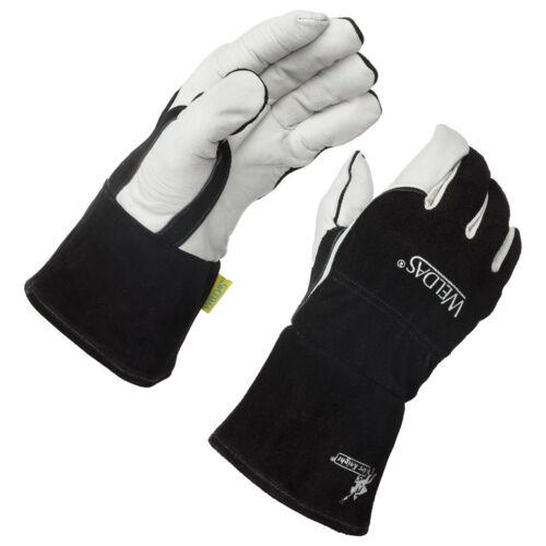 Weldas Arc Knight Premium Lined MIG/TIG Welding Gloves, Size S M L XL