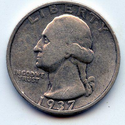1937 S WASHINGTON QUARTER SEE PROMO