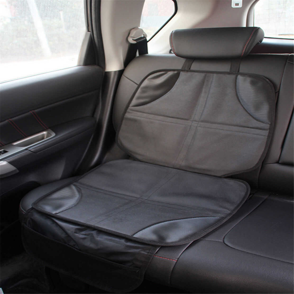 Car Seat Protector For Leather Seats >> Details About Baby Car Seat Protector Mat Covers Under Child Seat Leather Saver Car Cover Yp