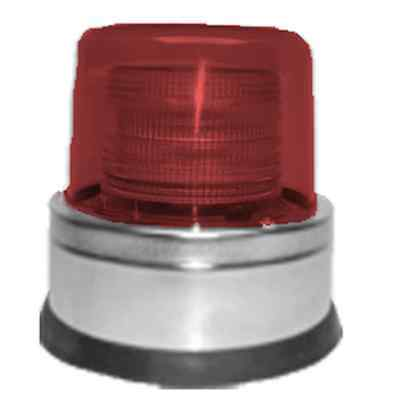 North American Signal Co St1250-acr Strobe-120v Ac Red-ul Permanent Mount