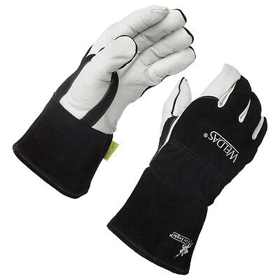 Weldas Arc Knight Premium Lined Migtig Welding Gloves Size Large