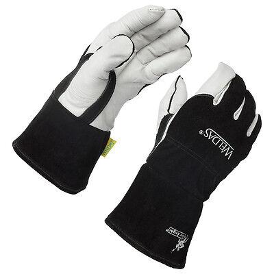 Weldas Arc Knight Premium Lined Migtig Welding Gloves Size X-large