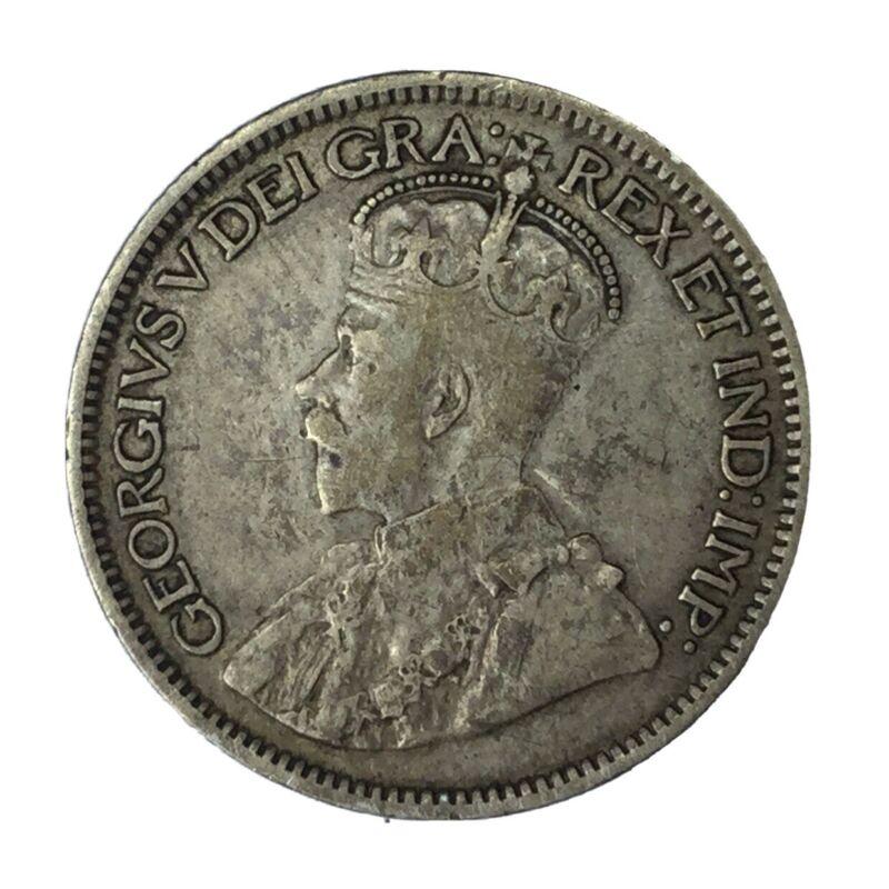 1913 Canada Silver 10 Cent VF #