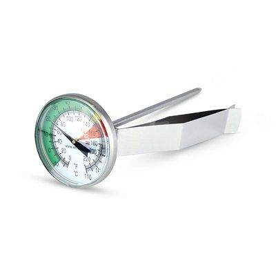 45mm Large Dial Milk Frothing / Coffee Thermometer - Easy to Read