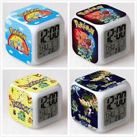 Pokemon Go 7 Color Change Led Night Light Digital Glowing Alarm Clock Toy Gift C - unbranded - ebay.co.uk