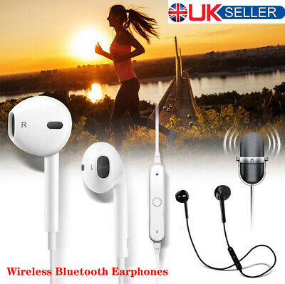 Wireless Bluetooth Earphones Headphones In Ear Earbuds For iPhone Samsung Xiaomi