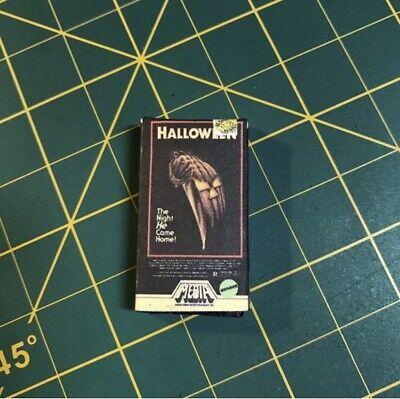 1/6 Custom VHS Horror rental tape accessory halloween Michael myers - Halloween Rentals