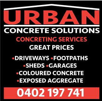 URBAN CONCRETE  AFFORDABLE PRICES