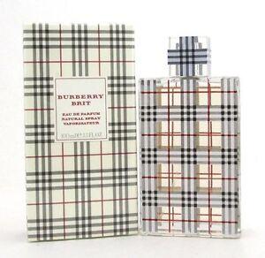 Burberry Brit by Burberry for Women Eau de Parfum Spray 3.3 oz/100 ml New in Box