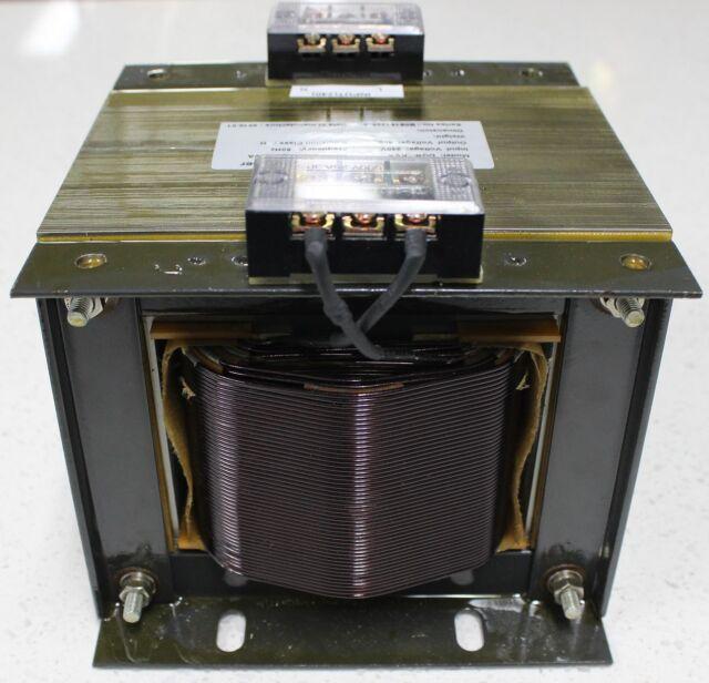 2 KVA Step Up,  Isolation Power Transformer (EI), 240V Input, 415V Output