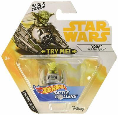 Hot Wheels Star Wars Starship Yoda & Starfighter Vehicle