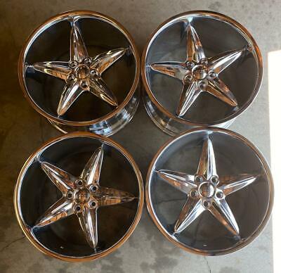 Foose F5 Car Wheels / Rims 20 Inch 5X120 +40mm Chrome