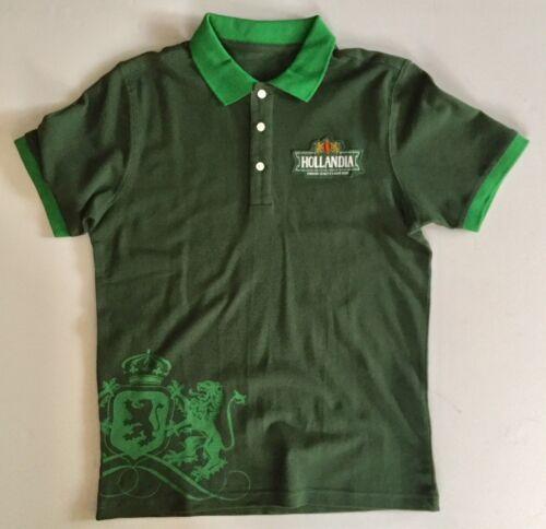 Hollandia Premium Quality Large Beer Small Polo Shirt