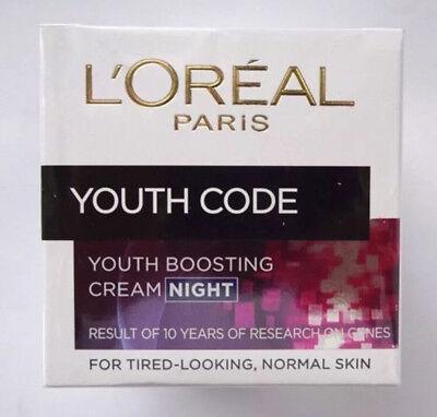 Loreal Anti-falten (Loreal Paris YOUTH CODE • Gesichtspflege • Anti-Falten • NACHT • 50ml)