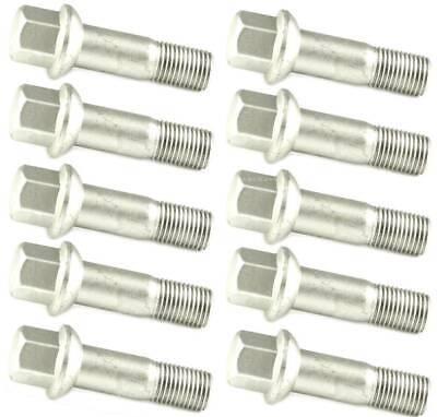 BAPMIC 10 x Radbolzen Radschrauben M14 x 1,5 für Mercedes C215 C140 W220 W140