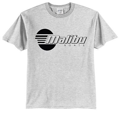 Malibu Boats Grey T Shirt