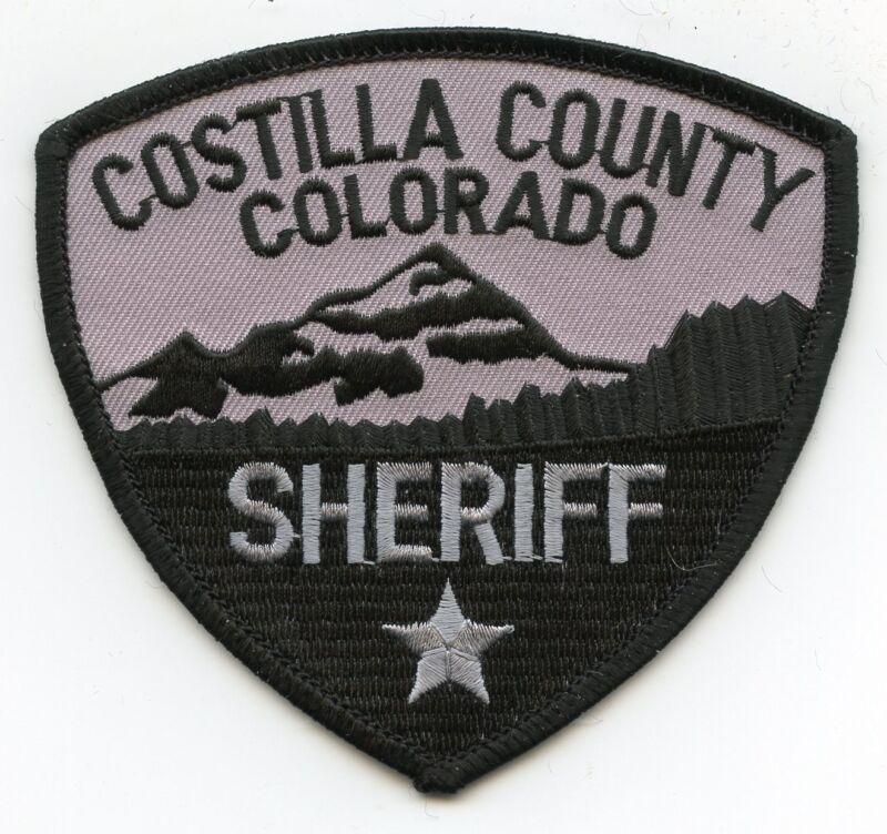 COSTILLA COUNTY COLORADO CO SHERIFF POLICE PATCH