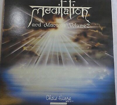 Original LP MEDITATION CHRIS HINZE