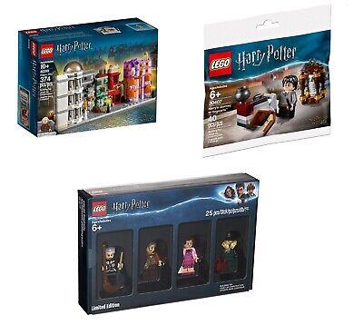 Lego 40289 Harry Potter Diagon Alley 5005254 Bricktober 30407 Polybag BUNDLE