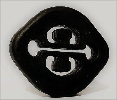 Auspuffgummi  (m. Kette) für MERCEDES-BENZ SL (R107) 300 SL - 500 SL,  Bj. 85-89