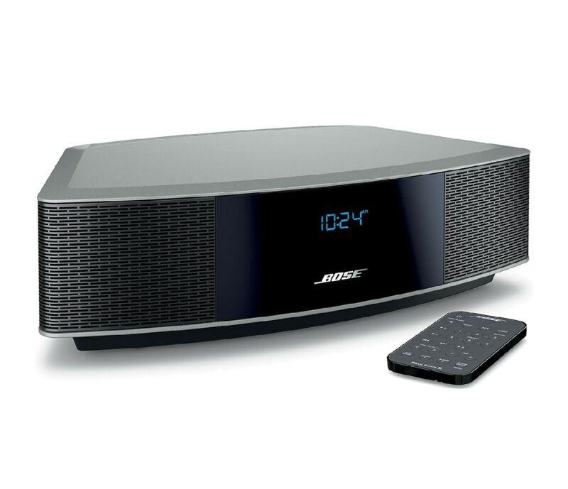 Bose Wave IV Radio Music System - Platinum Silver