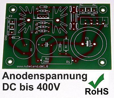 Anodenspannung DC bis 400V Leiterplatte