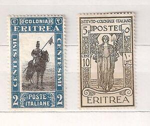 ERITREA-COLONIA-ITALIANA-1926-Ist-Coloniale-C-10-1930-Pittorica-C-2-NUOVI
