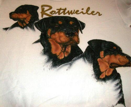 """Rottweiler Sweatshirt """" White """" SM ( 34 ~ 36 )"""
