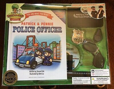 Patrick & Pennie Police Officer Dress Up Play - Patrick Dress Up